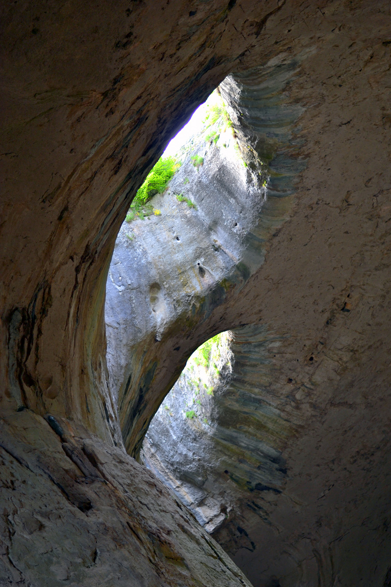 The eyes of God cave