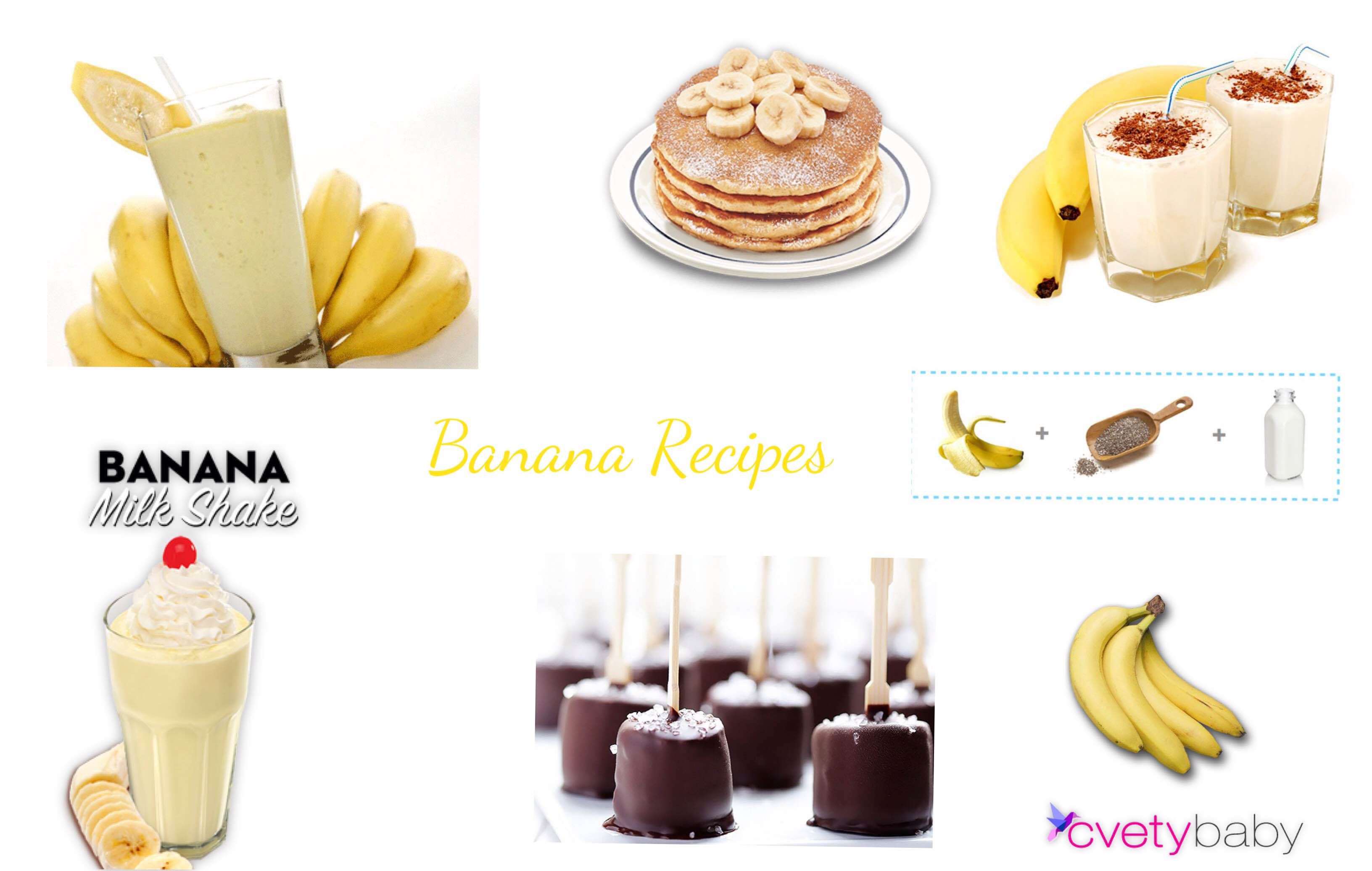 Healthy Banana recipes